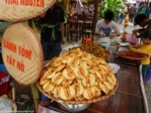 stoisko z owocami morza w hanoi