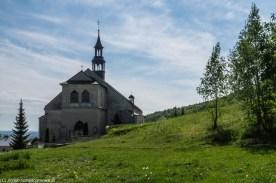 podsumowanie maja - kościół na zboczu góry