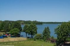 krajobraz natura las jezioro wigry