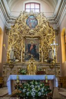 ołtarz zdobienia kościół wigry
