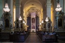 kościół nawa główna sejny