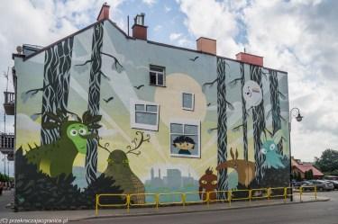 architektura mural sztuka suwałki