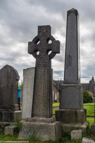 nagrobek krzyż celtycki