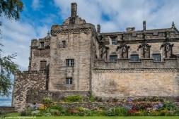 zamek mury ogród stirling