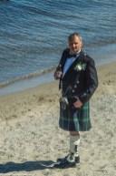 człowiek plaża browar