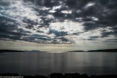 woda chmury krajobraz