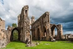 ruiny architektura katedra