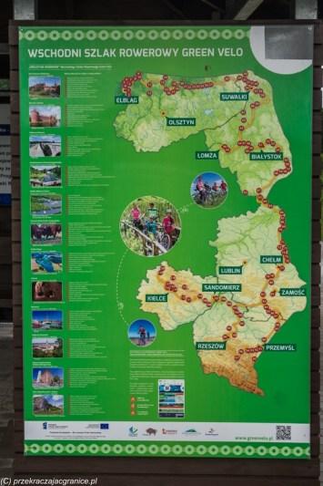 tablica informacyjna zielona