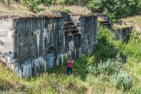 fotograf w akcji - Fort Lebiedziew