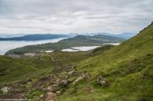 krajobraz górski z dwoma jeziorami