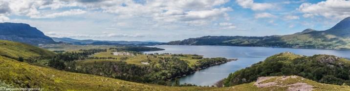 Szkocki krajobraz - Loch Torridon