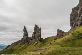 skały góry szkocja natura krajobraz