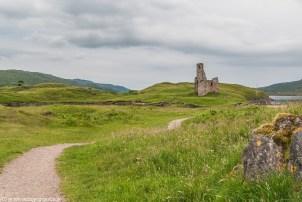 Tyle zostało z zamku klanu MacLeods