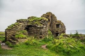 Castle Sinclair Girnigoe - wnętrza