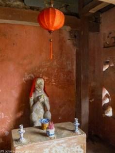środkowy wietnam - hoi an most japoński małpa