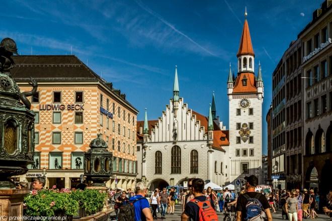 Stary Ratusz - atrakcje Monachium