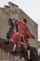 podsumowanie listopada - mural fight club warszawa