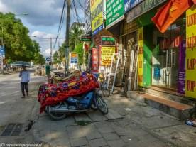 spacer po hanoi - ulica skutery usługi