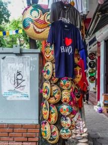 hanoi - kolorowe maski zakupy
