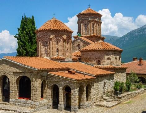 ochryda na weekend - klasztor sw nauma budynek