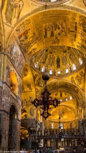 karnawał w Wenecji - bazylika