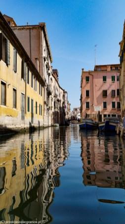 karnawał w Wenecji - gondole
