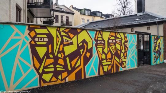 Oslo za darmo - ulice
