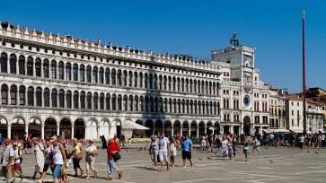 Karnawał w Wenecji - plac św. Marka