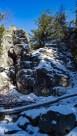 Góry Izerskie - Czarny Kamień