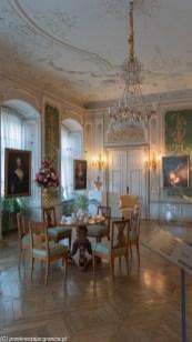 zamek książ - salon zielony