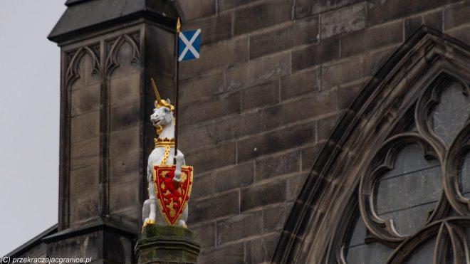 Jednorożec i flaga - legendy szkockie
