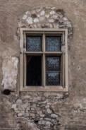 zamek w hunedoarze - okno