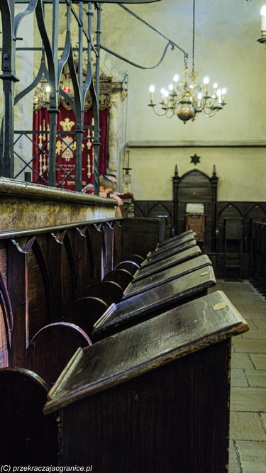 Synagoga Staronowa - Josefov