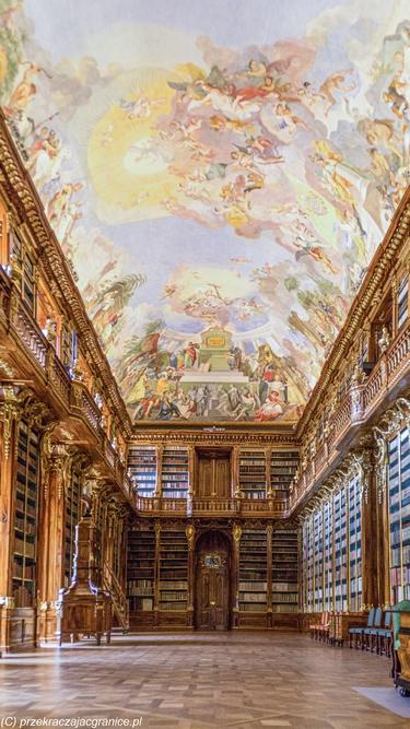 Klasztor na Strahovie - Biblioteka