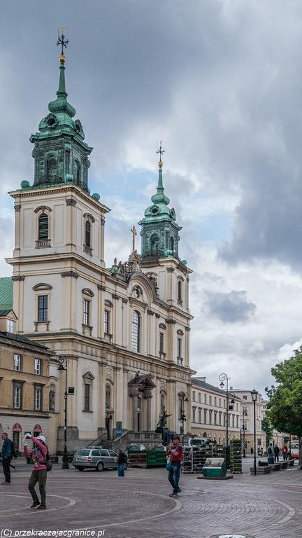 Centrum Warszawy - Kościół św. Krzyża