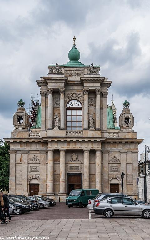 Kościół Seminaryjny - centrum Warszawy