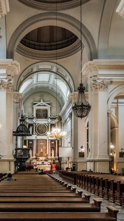 Centrum Warszawy - kościoły