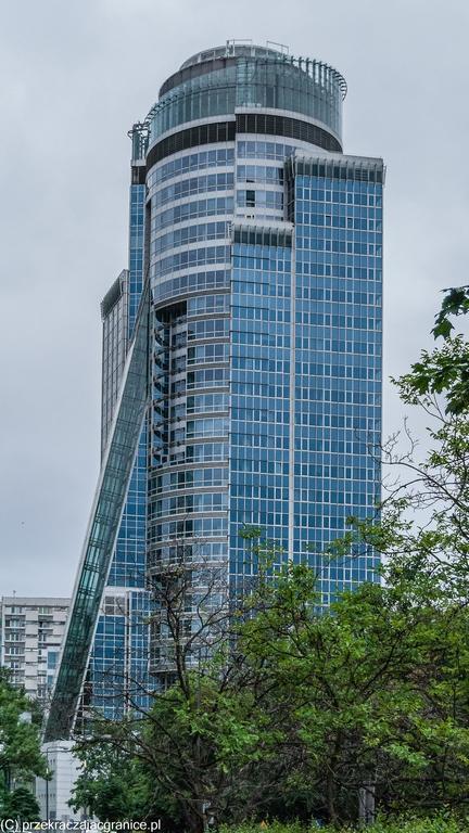 Centrum Warszawy - biurowce