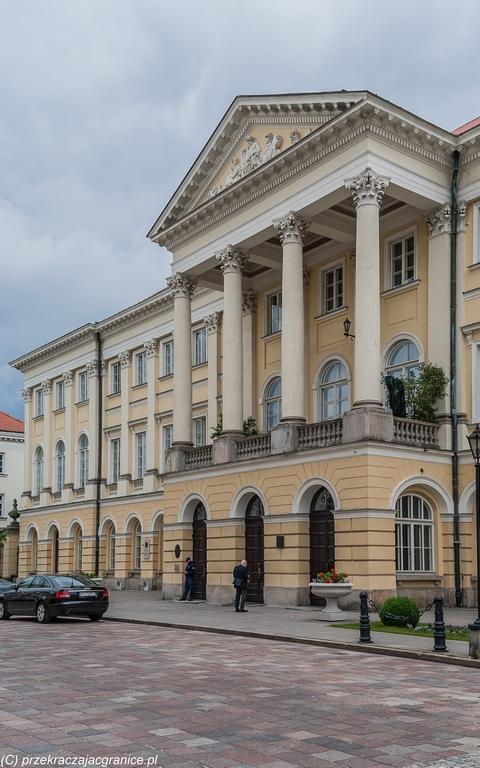 Uniwersytet Warszawski - Pałac Kazimierzowski