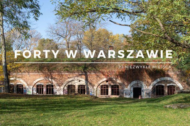 Forty w Warszawie - niezwykłe miejsca