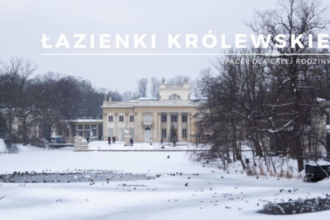 Łazienki Królewskie w Warszawie - spacer weekend