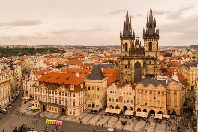 Praga - Najświętszej Marii Panny przed Tynem