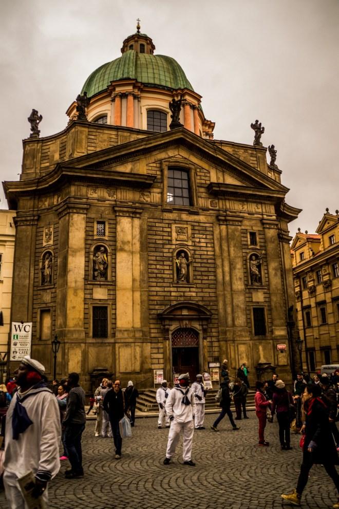 Praga - Kościół Świętego Franciszka z Asyżu