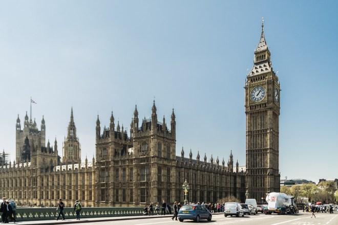 Londyn - Big Ben i Parlament