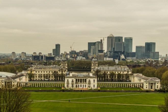 Londyn - Panorama miasta - Muzeum Morskie
