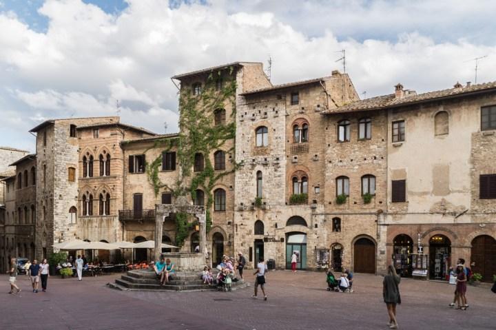 San Gimignano - plac