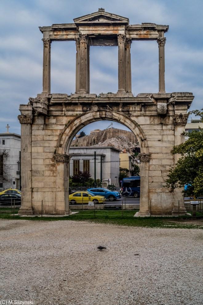 Ateny - Brama Hadriana