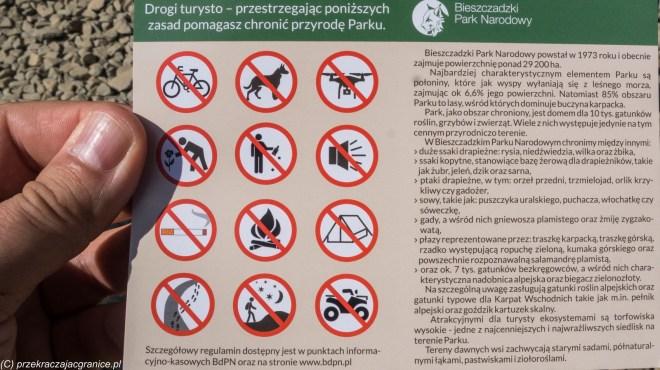 Bilet do BPN - połoniny w Bieszczadach