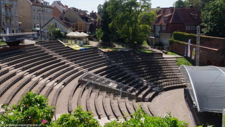 weekend w Olsztynie - amfiteatr