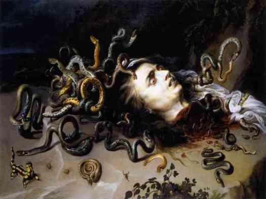 Meduza, obraz Rubensa
